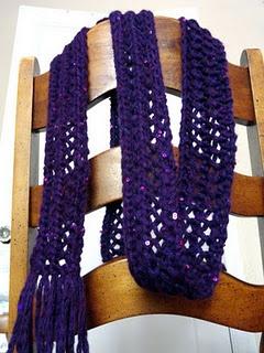 Crochet Scarf Patterns With Thin Yarn : CROCHET LACE THIN SCARF ? CROCHET PATTERNS