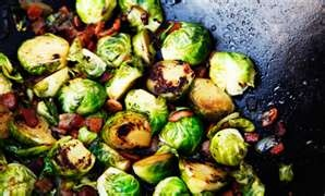 Bacon Brussels Sprouts. Penzey's Newsletter. The tiny bit of brown sugar is the secret to bringing brussels sprouts from tasty to delectable!