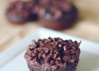 Triple chocolate chunk muffins | Cupcake | Pinterest