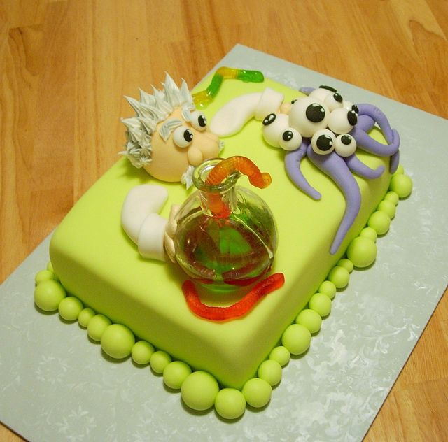 science cakes | mad scientist cake 3 | Flickr - Photo Sharing!