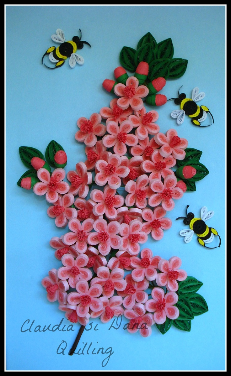 to master quilling. To be able to make different shapes from quilling ...