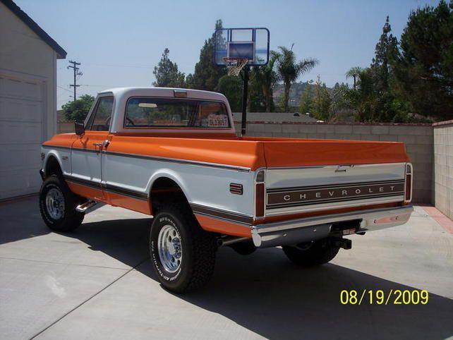 1972 chevy truck 4x4 orange galleryhip com the hippest galleries