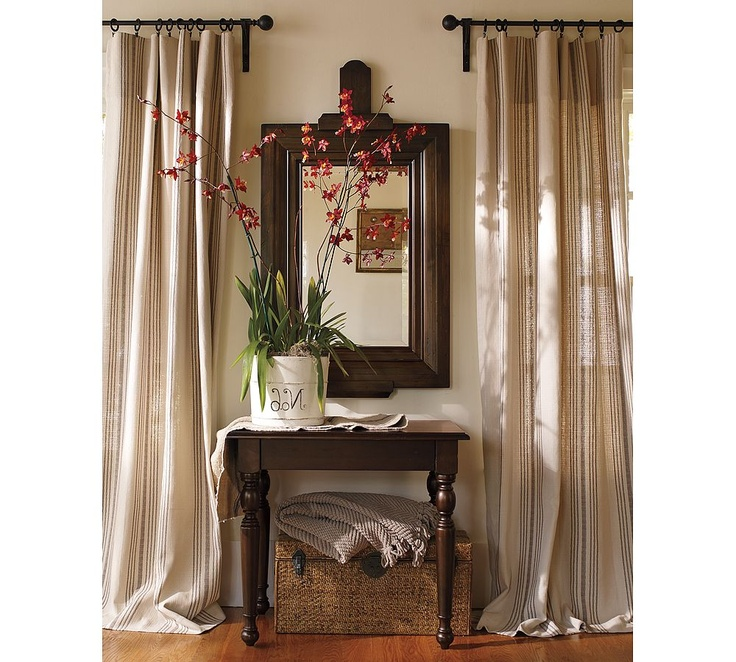 Decosee: Pottery Barn Curtains