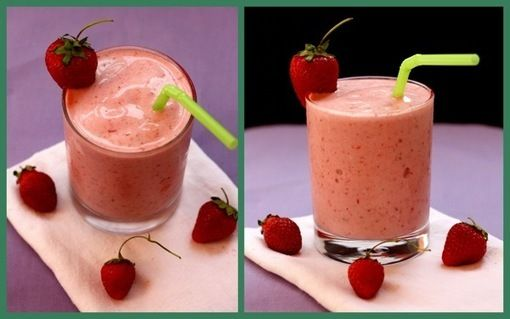 Strawberry Banana Coconut Smoothie | Cooking... my Passion | Pinterest