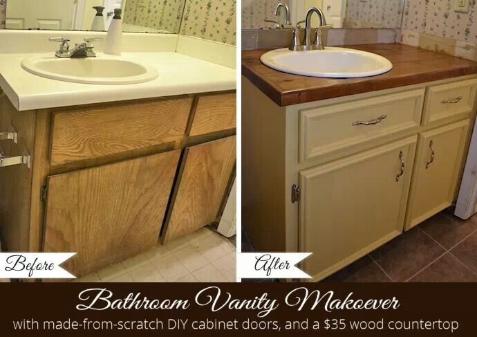 bathroom diy cabinet redo bathroom pinterest
