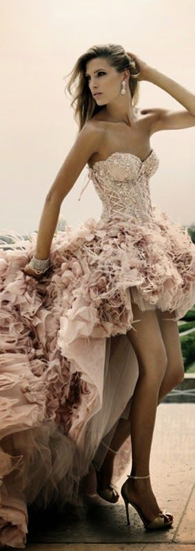 Fashionable Wedding Dress by Zuhair Murad