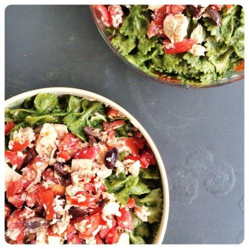Pasta salad with Swiss chard pesto | Some of my food | Pinterest