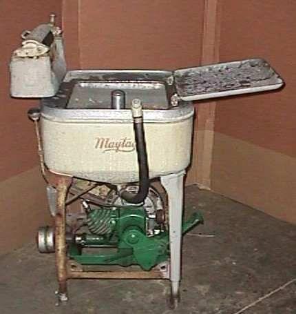 gas powered washing machine engine