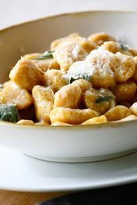 Fall Recipes: Pumpkin Ricotta Gnocchi with Butter Sage Sauce | Recipe