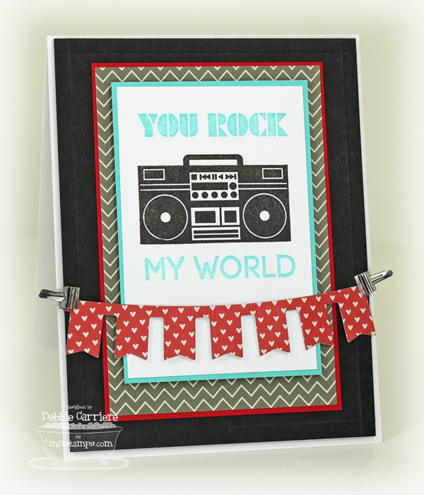 Document It - Rock On, Party Banner Die-namics - Debbie Carriere