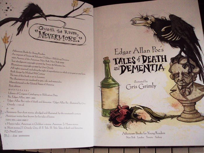Edgar allan poe s tales of death and demntia quot illustrated by gris