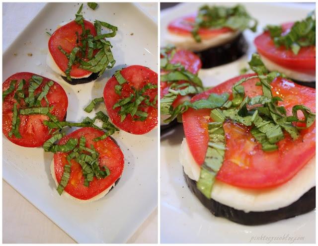 eggplant caprese | Food & Recipes | Pinterest