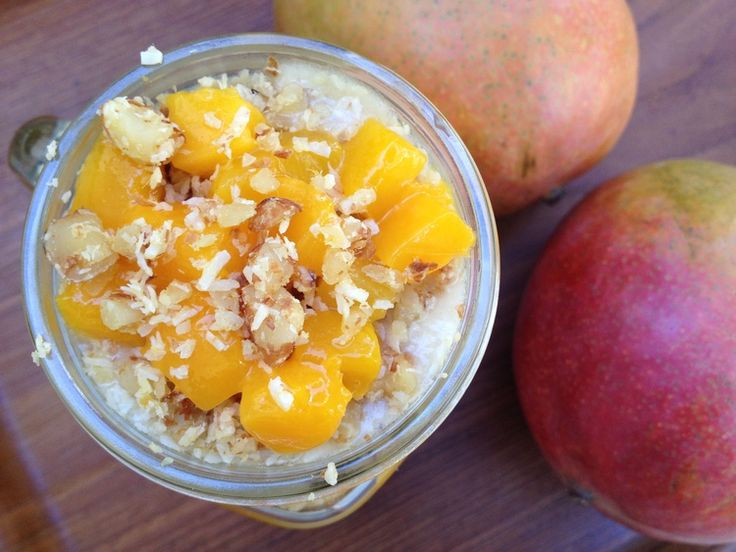 Mango Parfait with Coconut Crunch — Feasting on Fruit