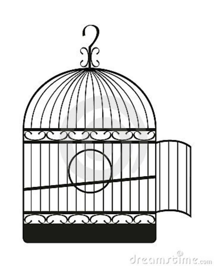 Bird Cage Tattoo | Ink | Pinterest: pinterest.com/pin/195906652514797283
