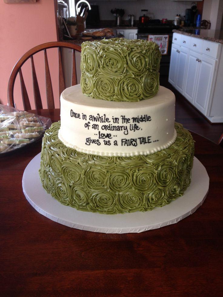 Engagement party cake! Cake Ideas Pinterest