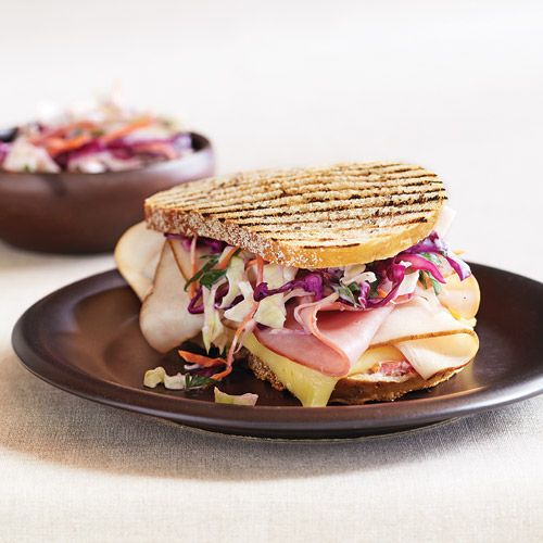 ... and a hearty dose of fiber) in our Clean Reuben Sandwich! Clean Eating