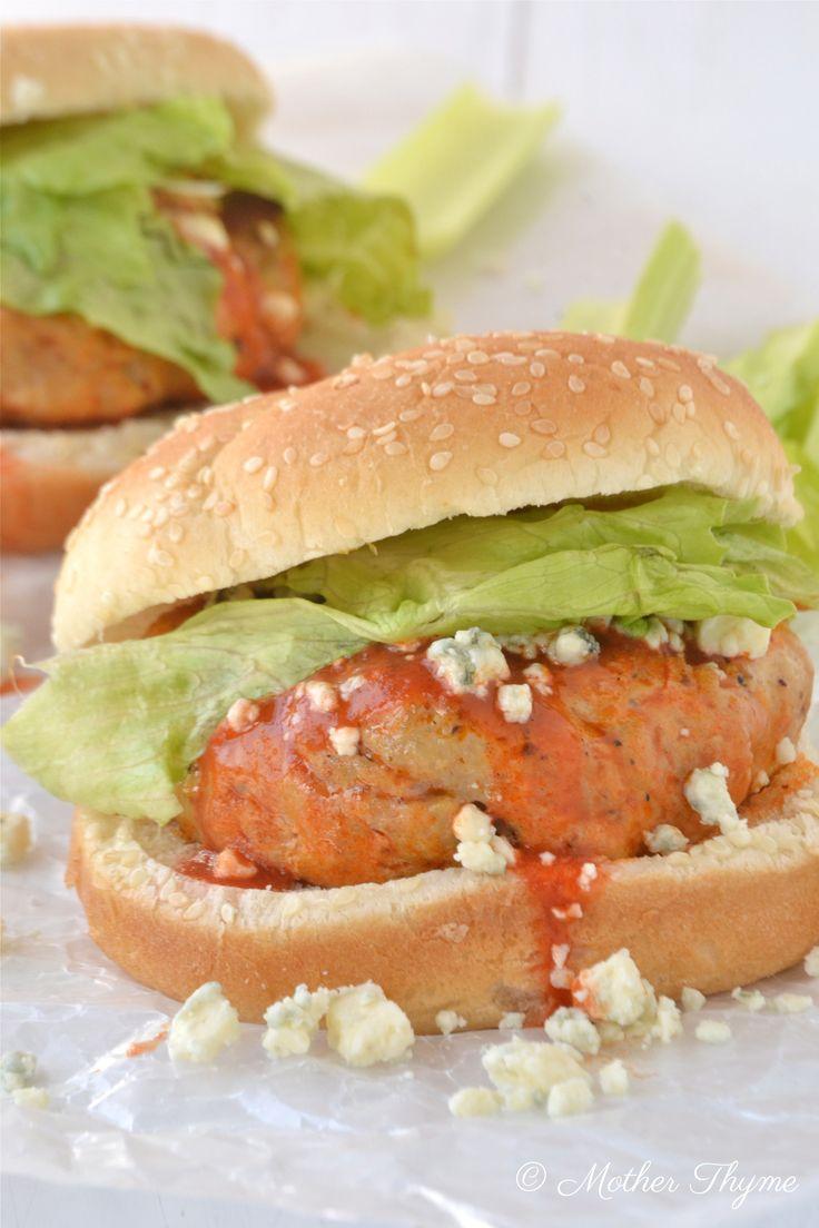 Another twist on the chicken sandwich: Buffalo Chicken Burgers