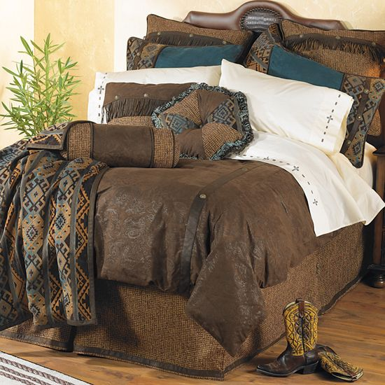 Del rio western bedding collection western decor pinterest
