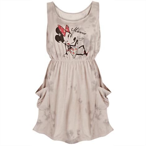 Rhinestone Ooh La La Minnie Mouse Dress for Women | Dresses & Skirts