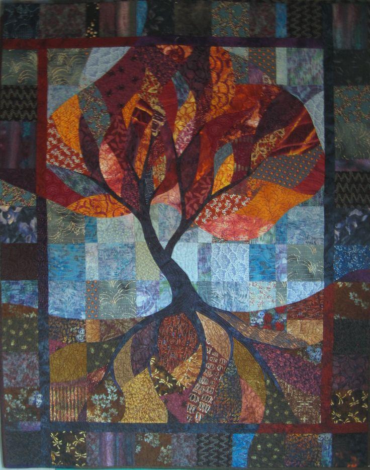 tree of life quilt Tree of Life Pinterest