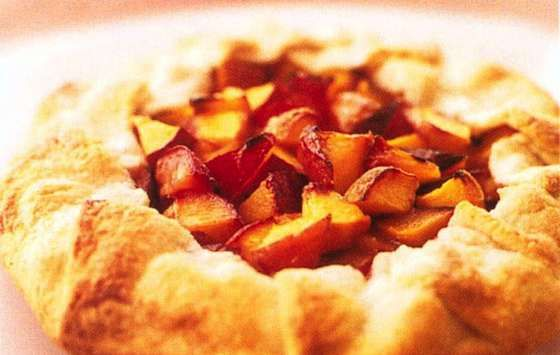Peach Crostata is Easy as Pie Recipe | Recipes | Pinterest