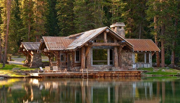 Pinterest for Log cabin dream homes
