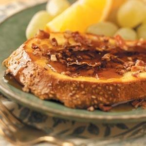 Pecan Orange French Toast | Recipe