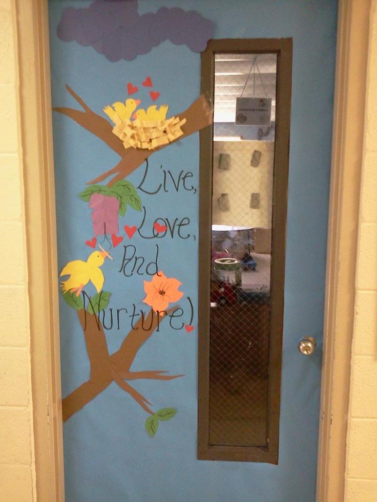 Classroom Door Decoration Ideas For March ~ Classroom door decorations for the sping march ideas