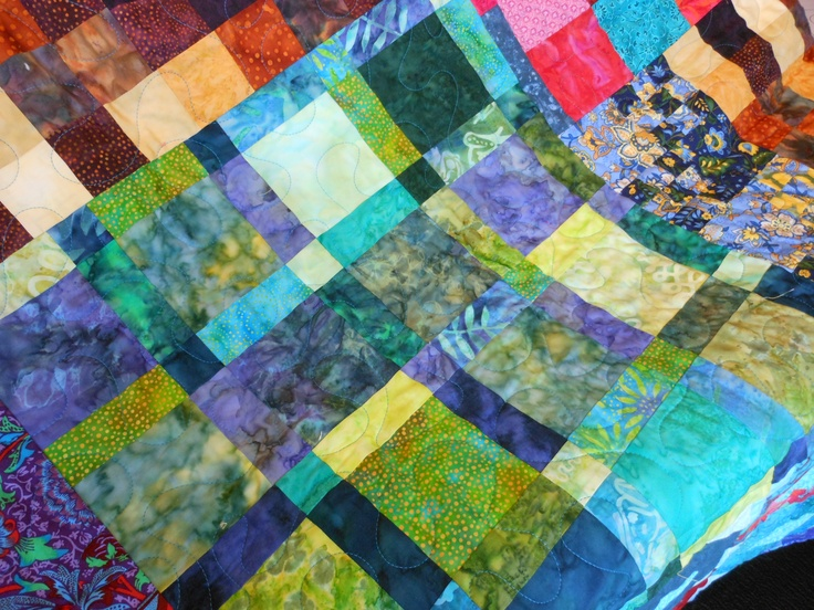 Scrap Quilt Quilting/Sewing/Fabric Pinterest