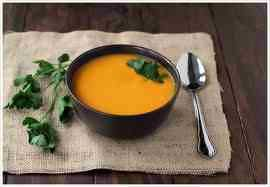 Detox. Ginger Carrot Soup 1 quart of distilled water 1 cup carrots 1 ...