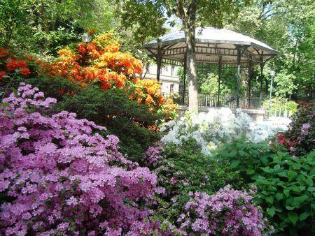Flower Garden Gazebo : gorgeous flower garden and gazebo