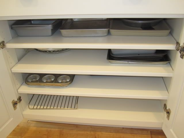 Cookie Sheet Cabinet