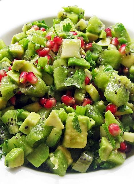 kiwi avocado salsa | Food... Glorious... Food! | Pinterest