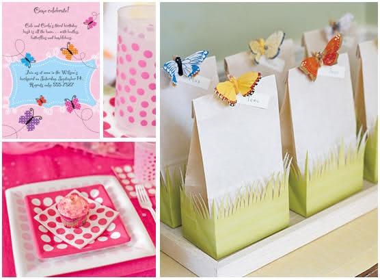 Ideas Fiesta Tema de Mariposas