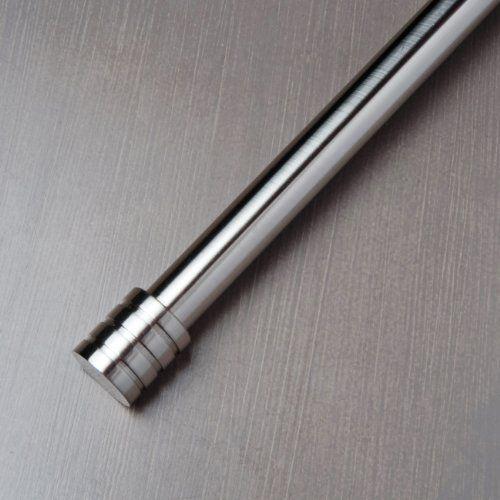 """Metal Curtain Rod Collection 1"""" Diameter, 48""""-84"""" Length - Metal ..."""