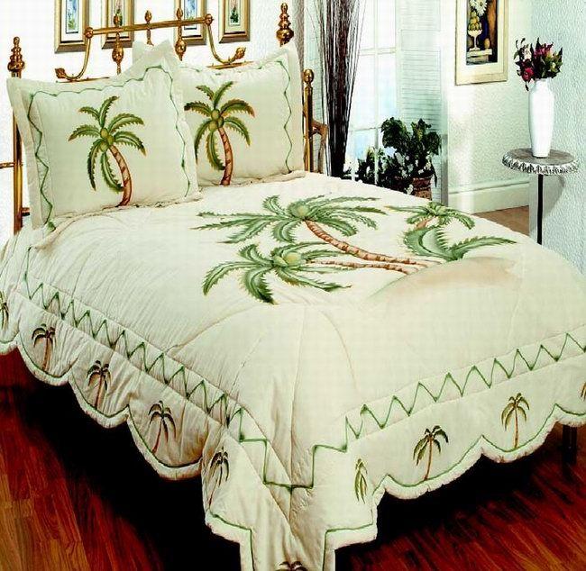 Palm Tree Sheets Bedding