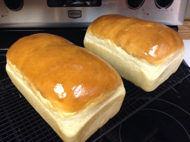 Amish white bread cause I can never have too many bread recipes.
