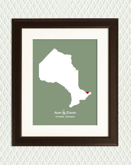 TORONTO ONTARIO CANADA - Gift for an engagement, wedding, honeymoon or ...