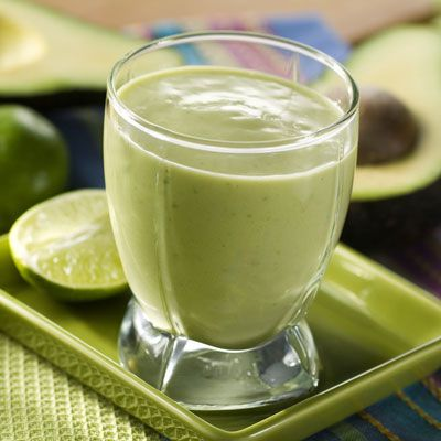 Tropical Avocado Smoothie is a refreshing drink from the Pacific Ocean coastal city of Buenaventura, Colombia. Serve over crushed ice and garnish with grated lemon. Great for avocado lovers.