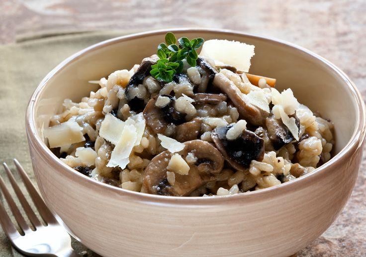 Mushroom Risotto   salads & dressings   Pinterest