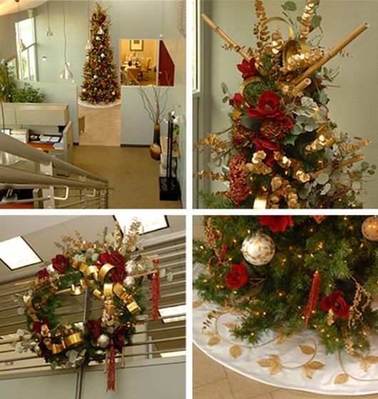 Zen Office Christmas Decor Deskirations Pinterest