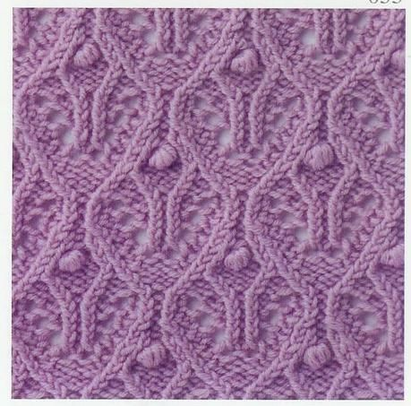 Lace Knitting : Lace Knitting Stitch #56 crochet Pinterest