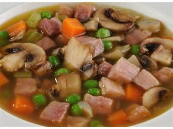 Green Pea and Ham Soup | Paleo/Non Processed Foods | Pinterest