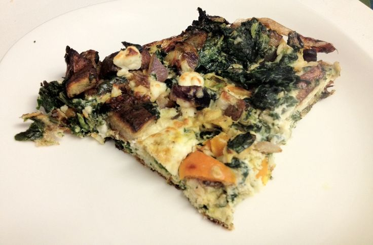 ... frittata with zucchini tomatoes feta and herbs light spinach and feta
