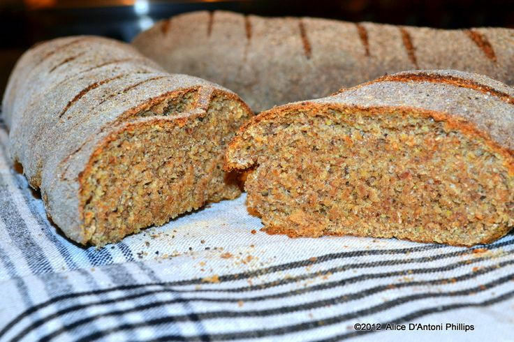 Wheat Pepper Peasant Bread' Baquette loaves with coarse ground pepper ...