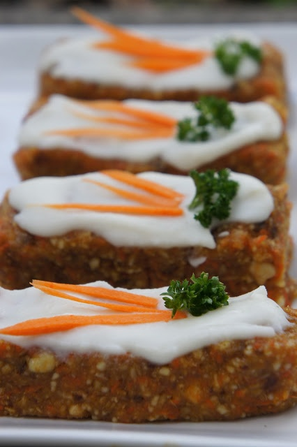 """Kid Can Eat!: Mother's Day: Frosted """"Carrot Cake"""" Bars"""