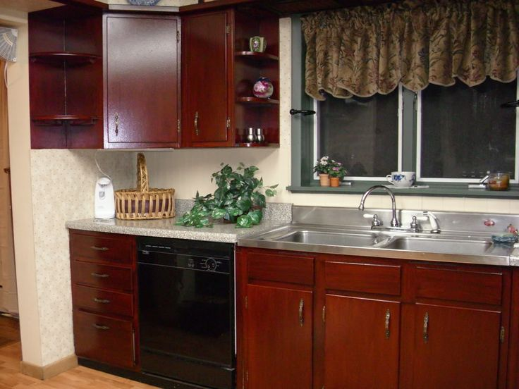 How To Stain Cabinets Without Stripping For The Home Pinterest