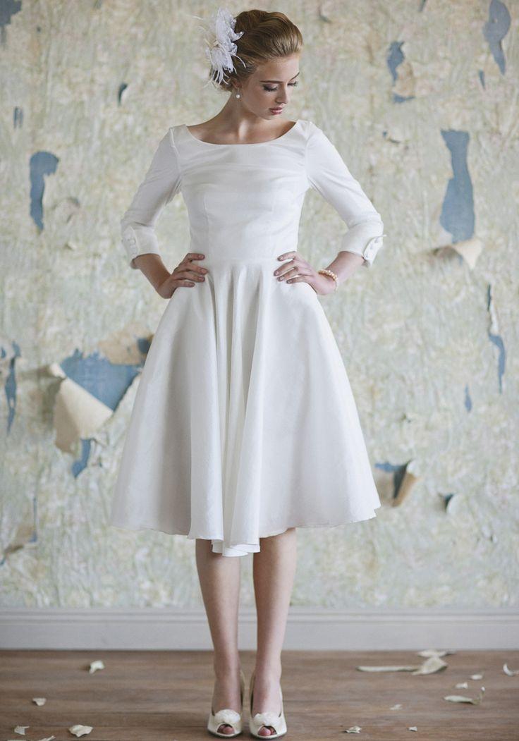 Vintage Tea Length Wedding Dress Brisbane: Vintage tea length ...