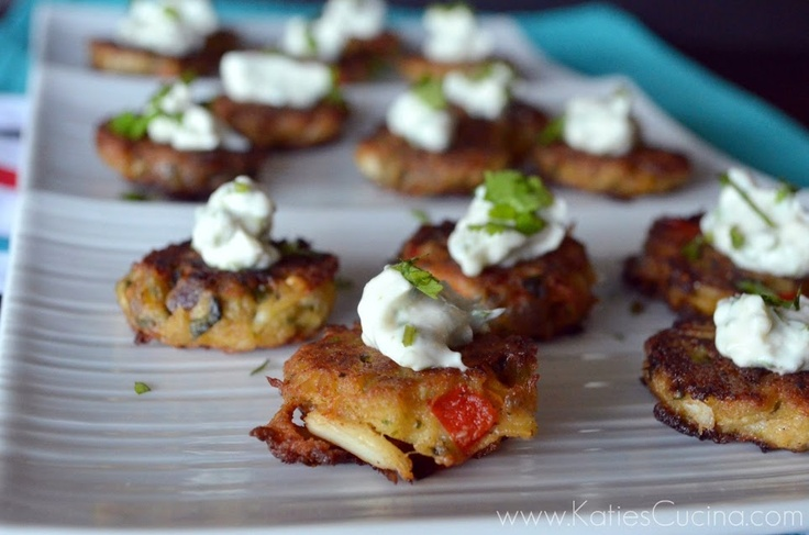 Mini Crab Cakes With Dijon And Scallions Recipe — Dishmaps