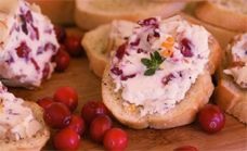 Cranberry Almond Goat Cheese Log recipe from the Cape Cod Cranberry ...